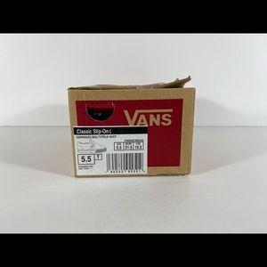 Vans Shoes - Vans Classic Slip-On Mermaid Sneakers
